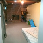 before of room, create a home Sensory motor room