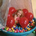 balloons in ball pit
