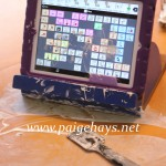 messy play with AAC
