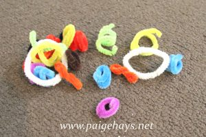 pipe cleaner as toy